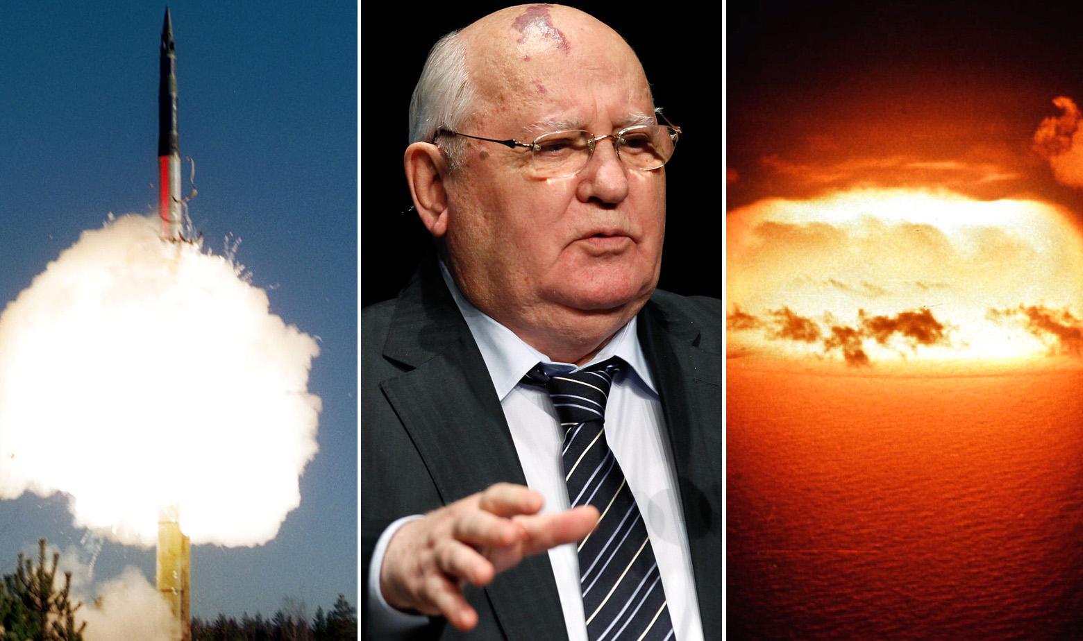 Balistički projektil Topol M, Mihail Gorbačov, testiranje H-bombe na atolu Enewetak 1956.