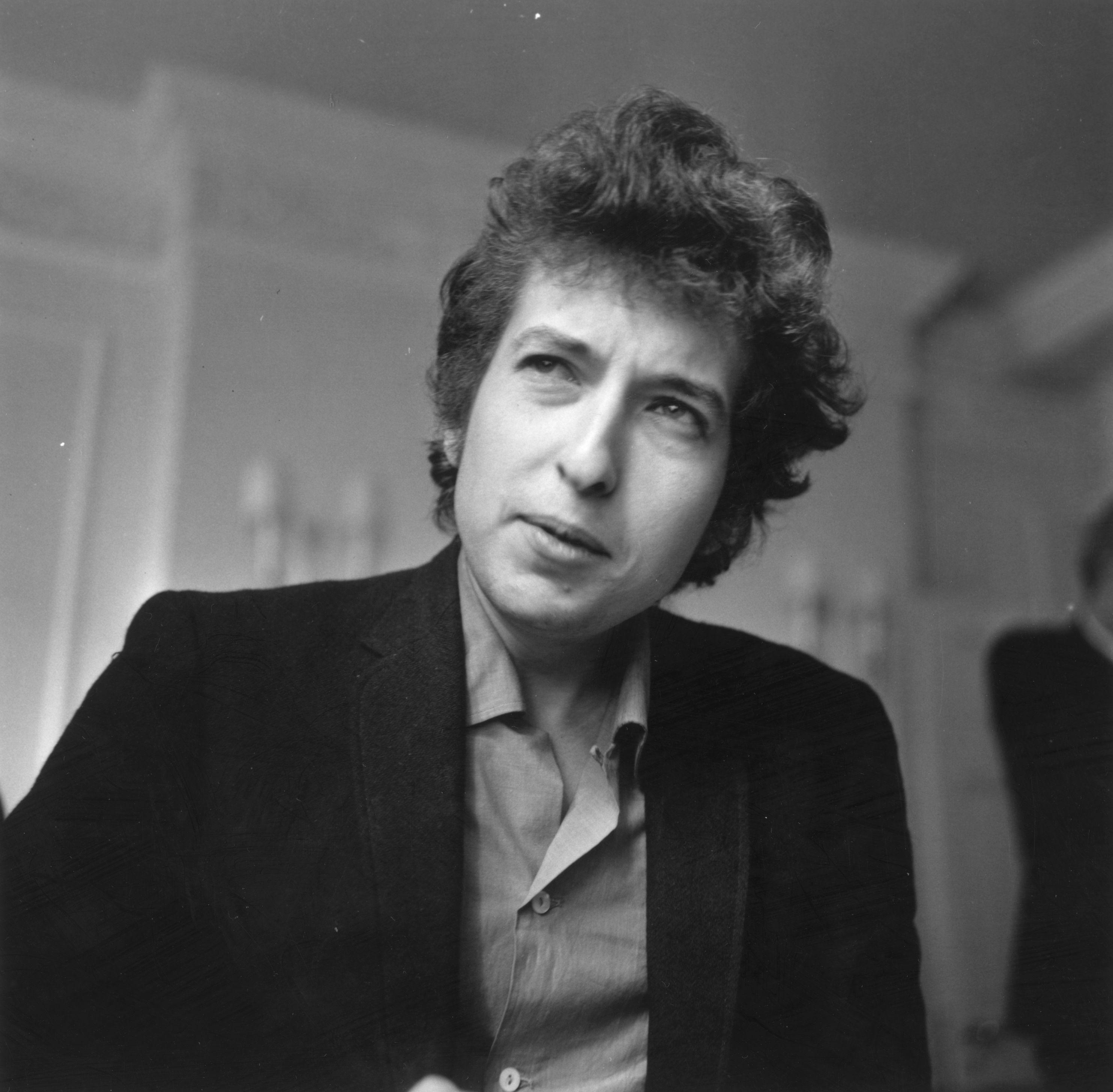 Bob Dylan tijekom intervjua za Evening Standard, 1965. godine
