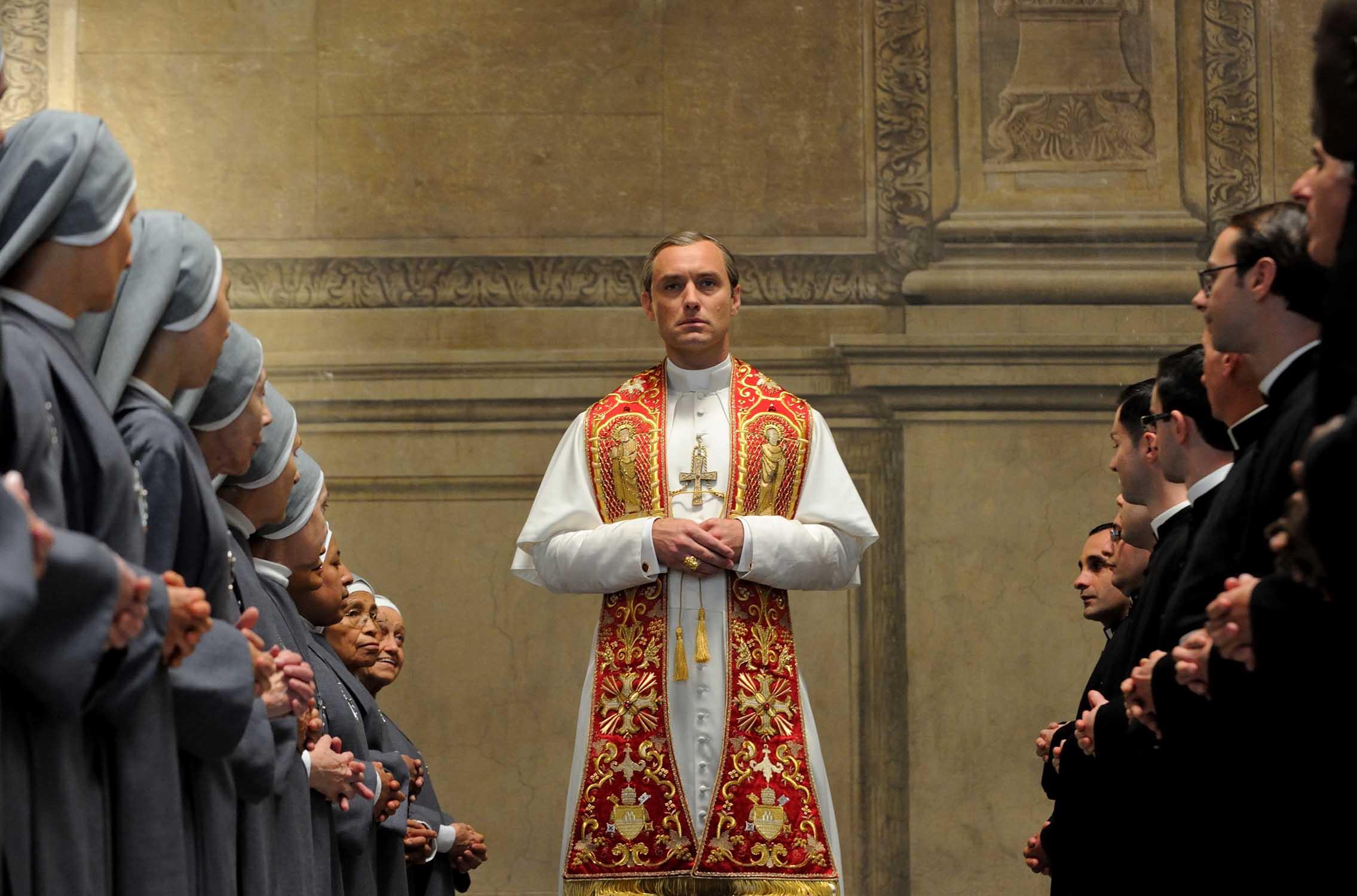 Jude Law u seriji 'Mladi papa'