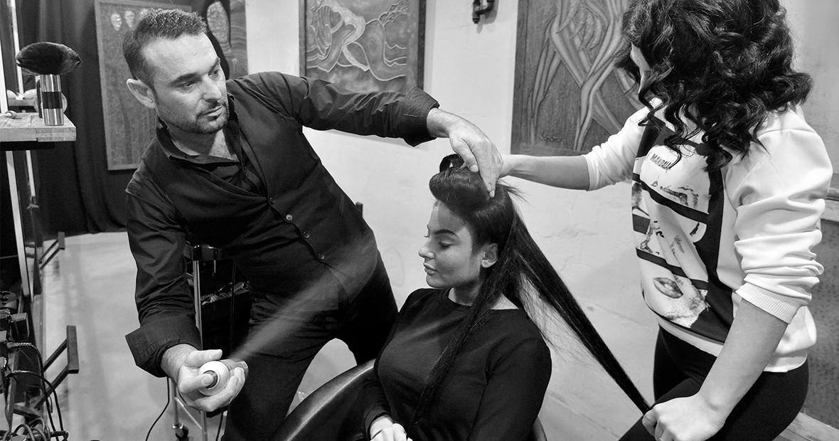naslovna umjetnost frizure