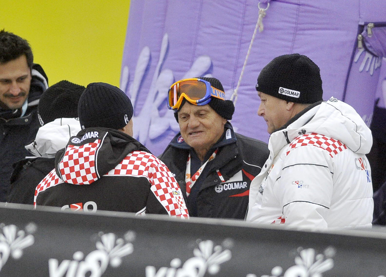 Zagreb, 060113. Sljeme - Vip Snow Queen Trophy 2013. Utrka muskog slaloma FIS Ski World Cup Vip Snow Queen Trophy.Prva voznja. Na fotografiji: Ante Kostelic. Foto: Damir Krajac / CROPIX