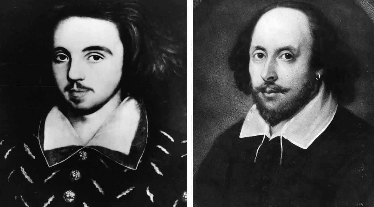 Christopher Marlowe i William Shakespeare