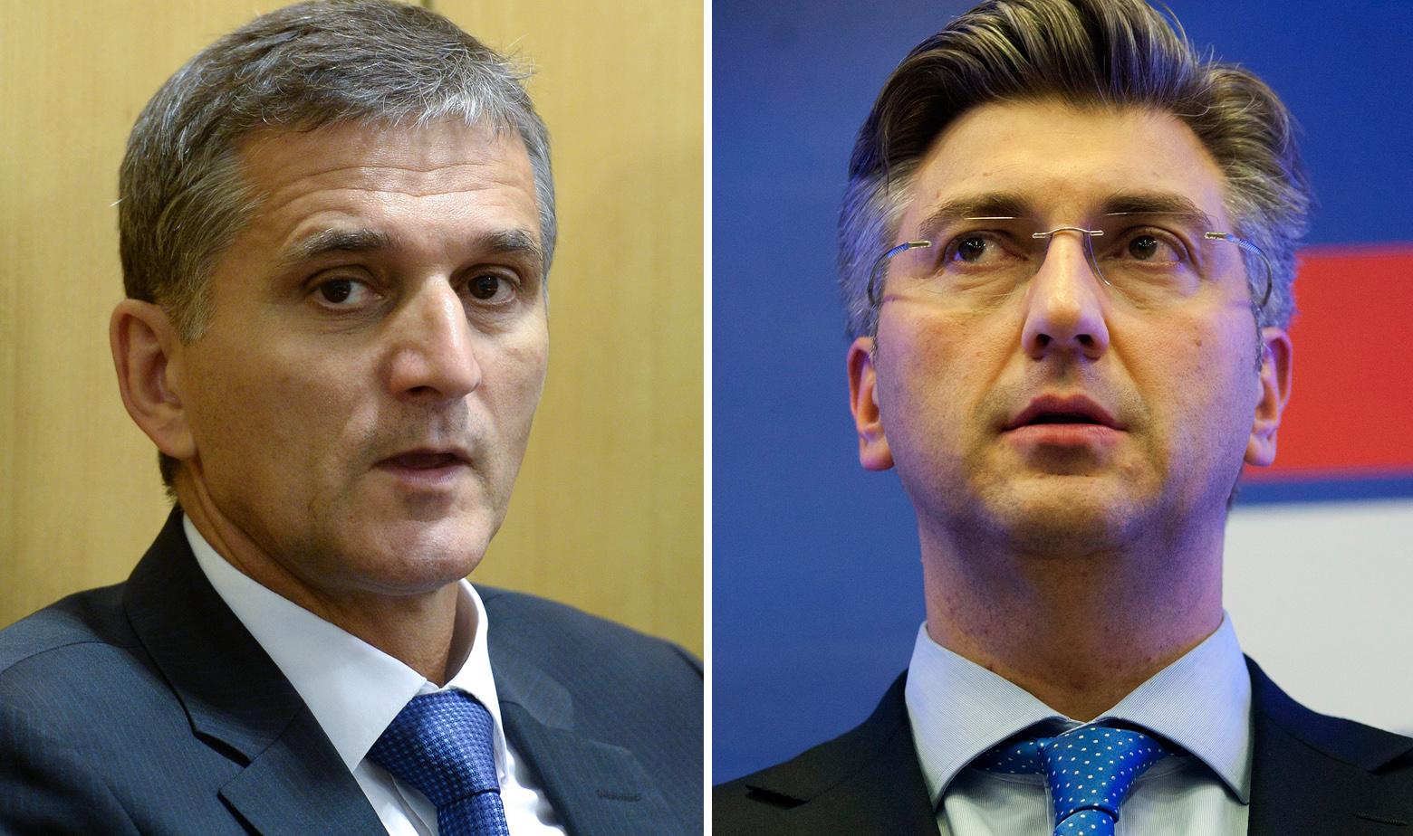 Marić i Plenković