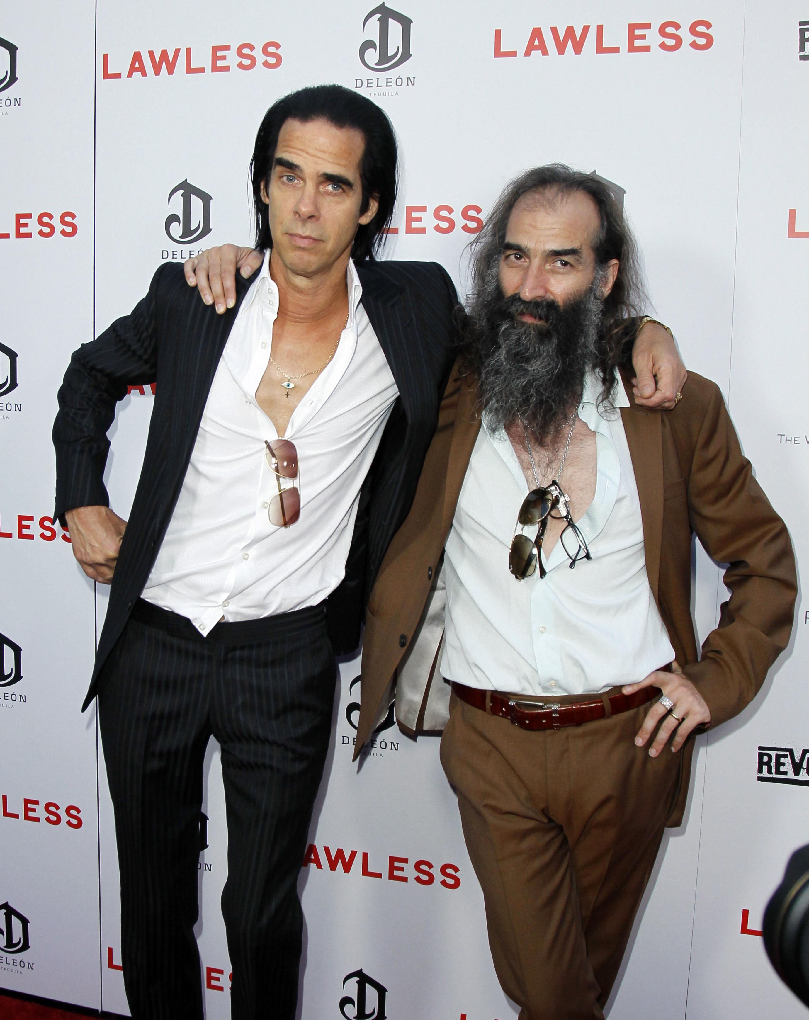 Nick Cave i Warren Ellis na premijeri filma 'Lawless' u Los Angelesu