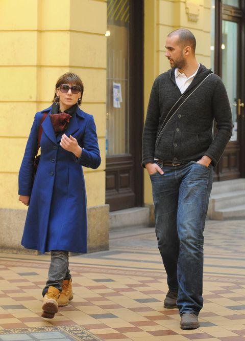 Spica / Zagreb 250212 / foto: Maja Jurovic / Daria Lorenci i suprug Emil Flatz