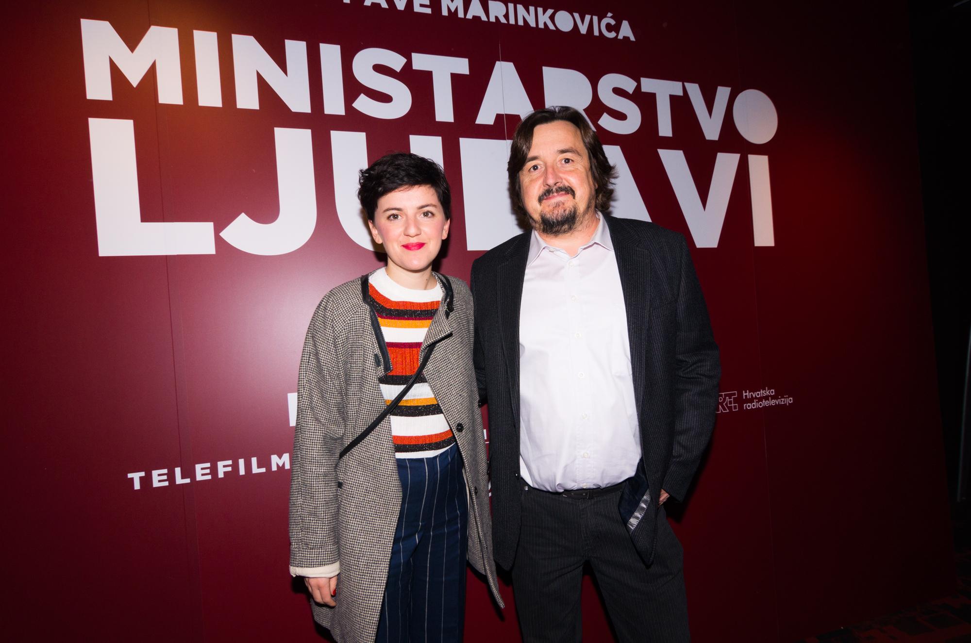 Pavo Marinković i Maja Posavec