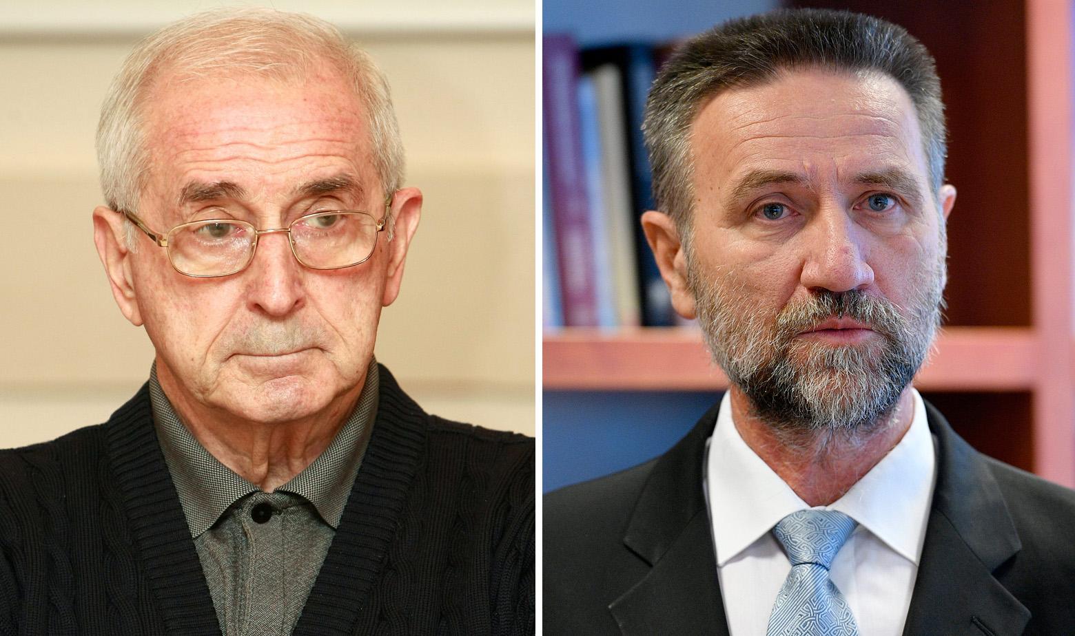Vlatko Silobrčić i Pavo Barišić
