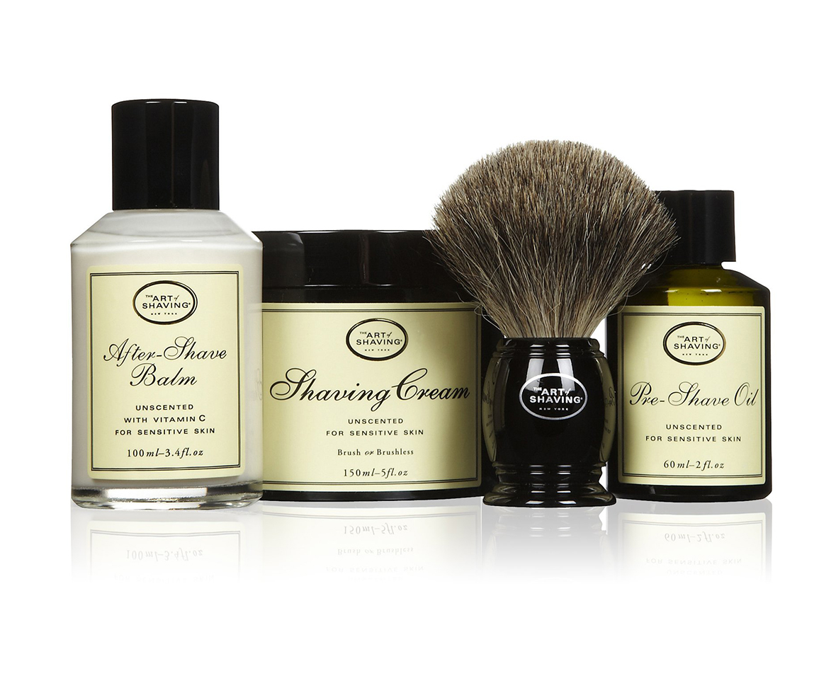 The Art of Shaving set, bez mirisa, 120 dolara, sephora.com