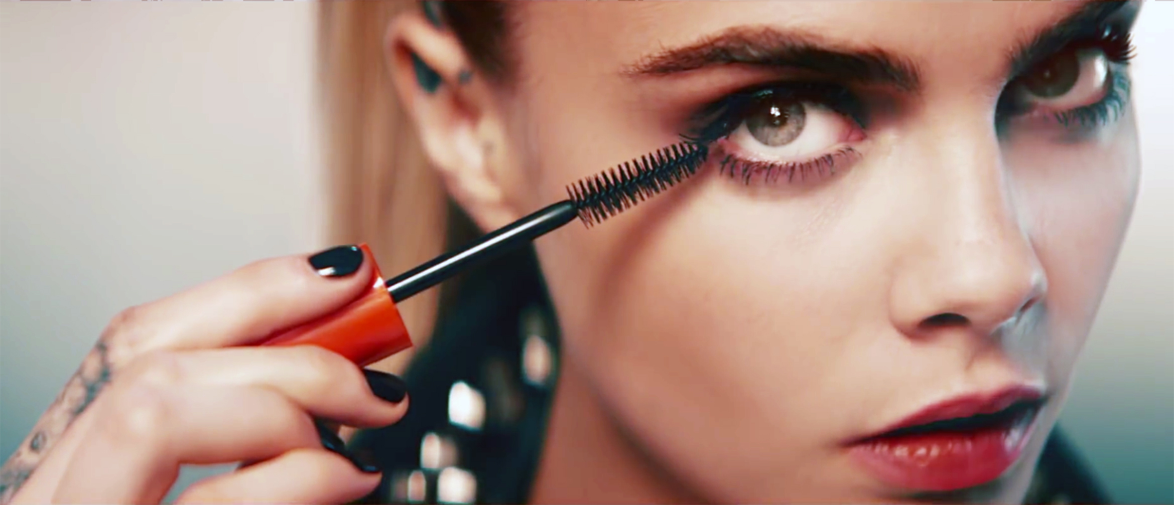 English fashion mode Cara Delevingne stars in Rimmel London 'Scandaleys Reloaded Mascara' 2016 advertising campaign., Image: 303155471, License: Rights-managed, Restrictions: EDITORIAL USE ONLY, Model Release: no, Credit line: Profimedia, Balawa Pics