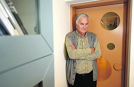 Zadar, 031116. Nikola Basic, poznati hrvatski arhitekt. Foto: Jure Miskovic / CROPIX