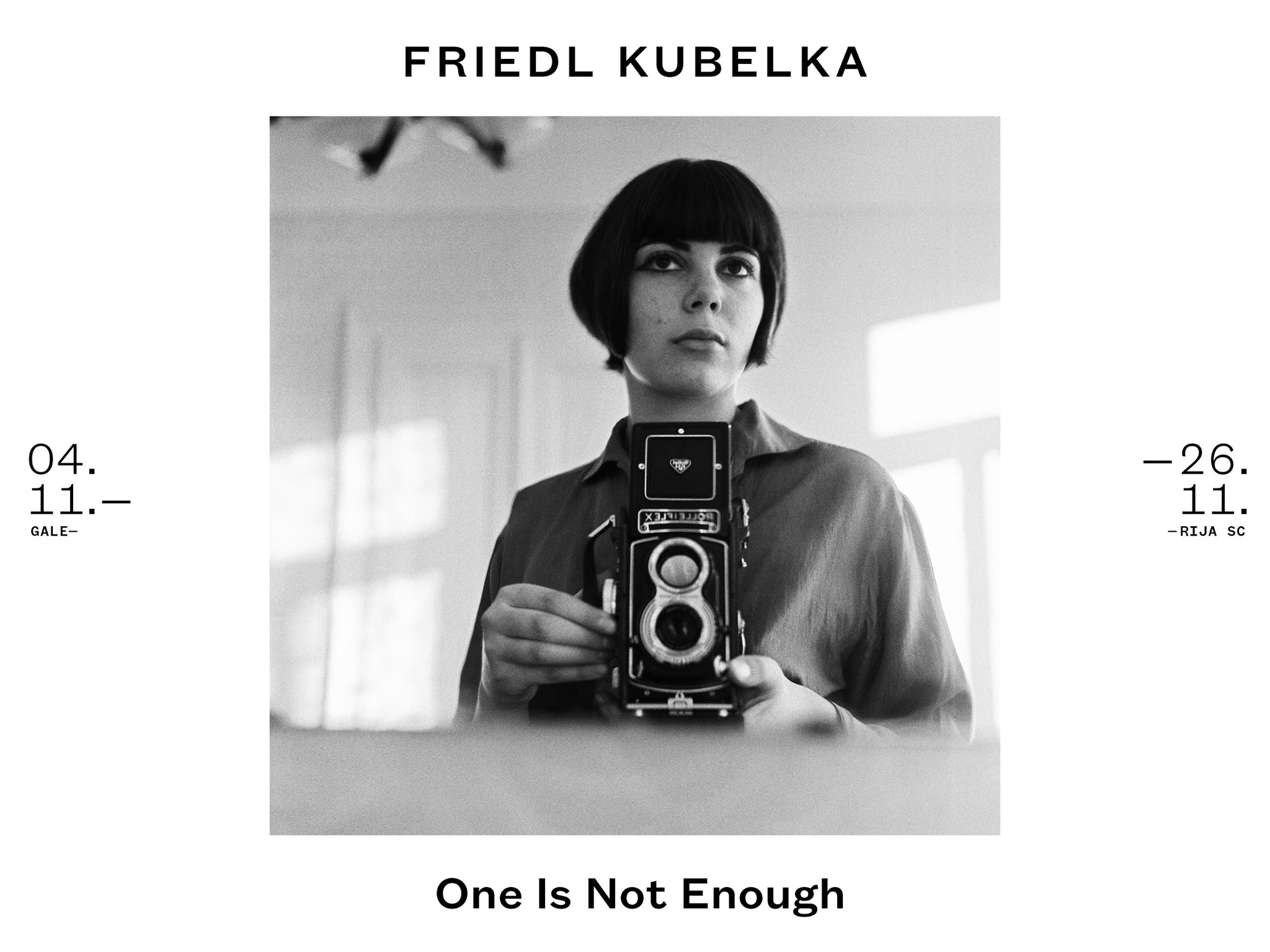 FK – Friedl Kubelka. One Is Not Enough _Galerija SC