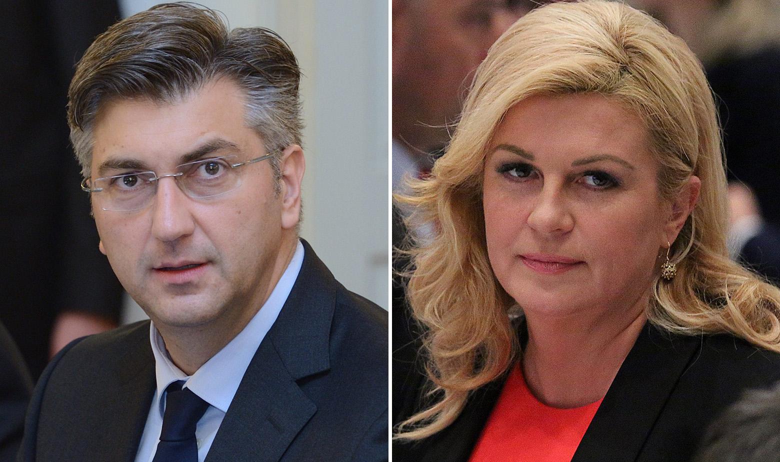 Plenković i Kolinda