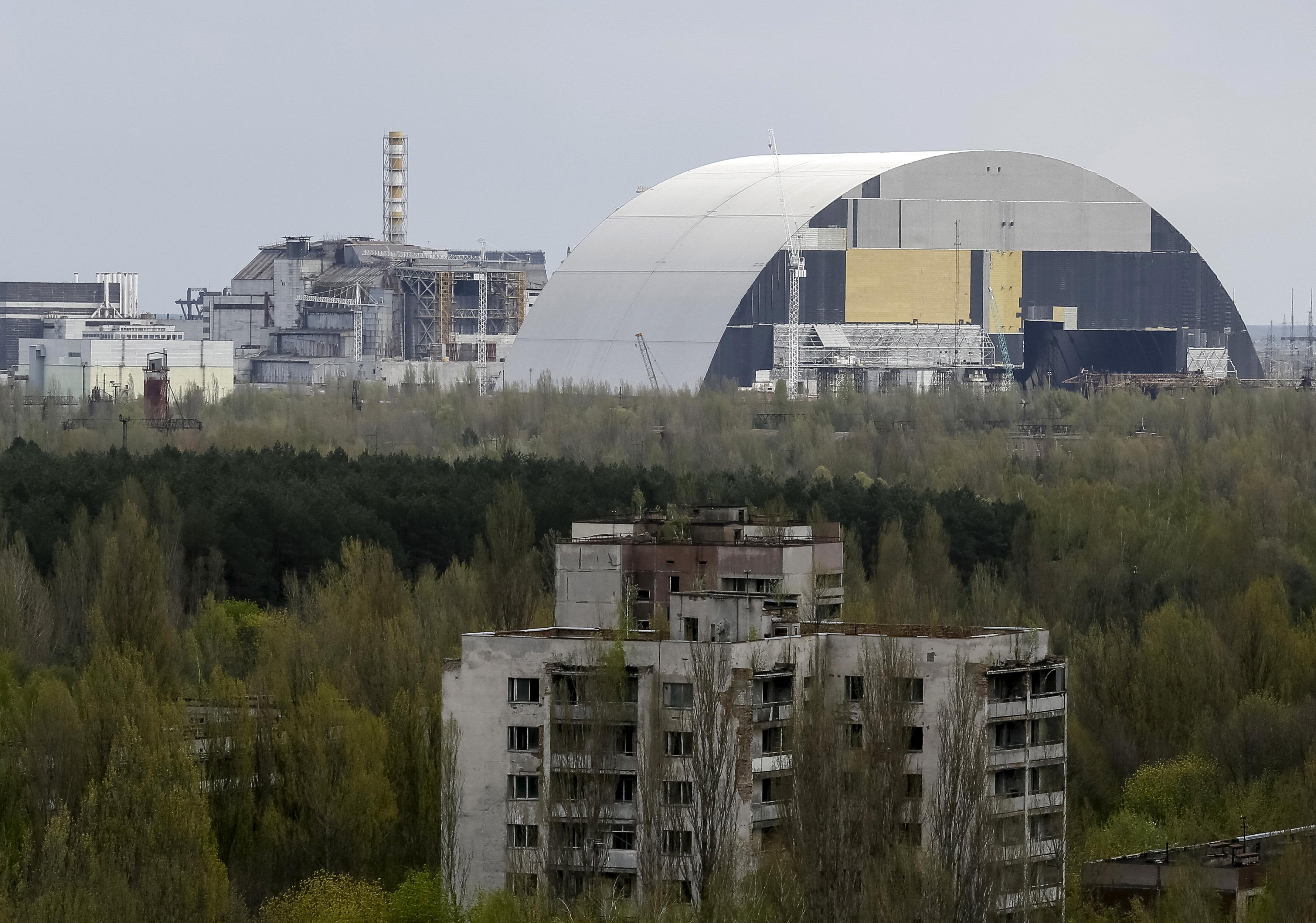 Černobil, fotografija iz travnja 2016.