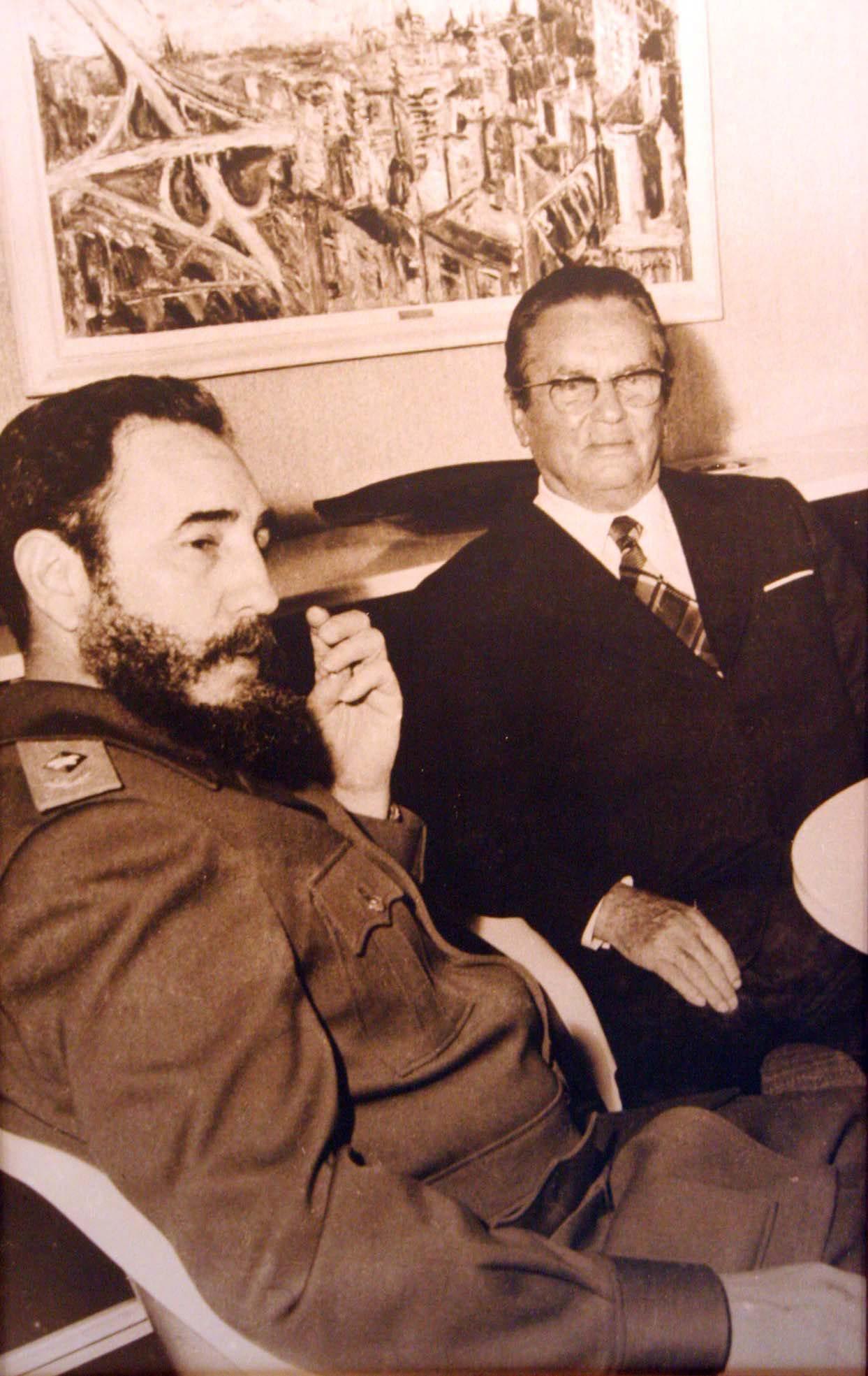 Fidel Castro i Josip Broz Tito