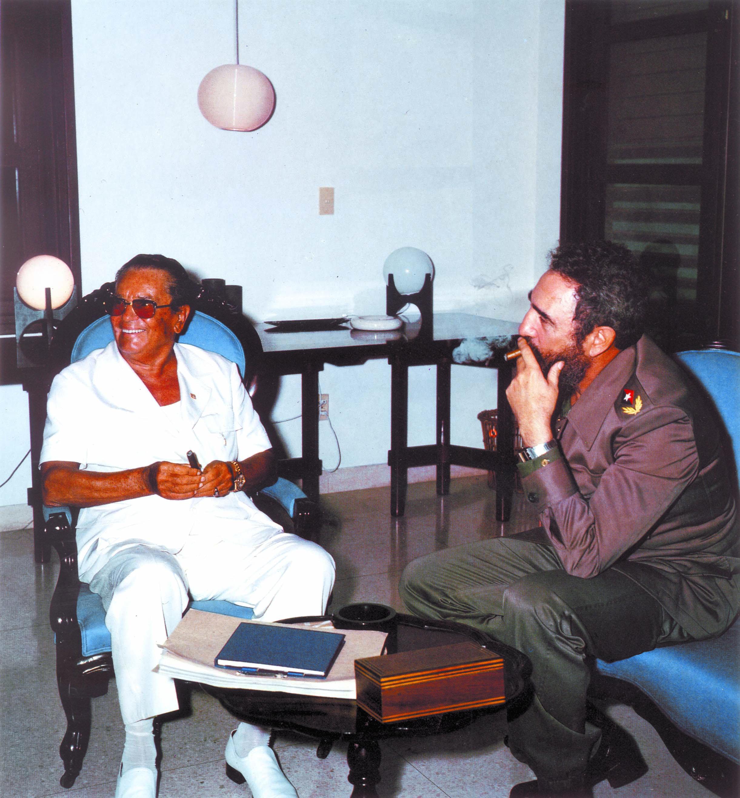 Josip Broz Tito i Fidel Castro