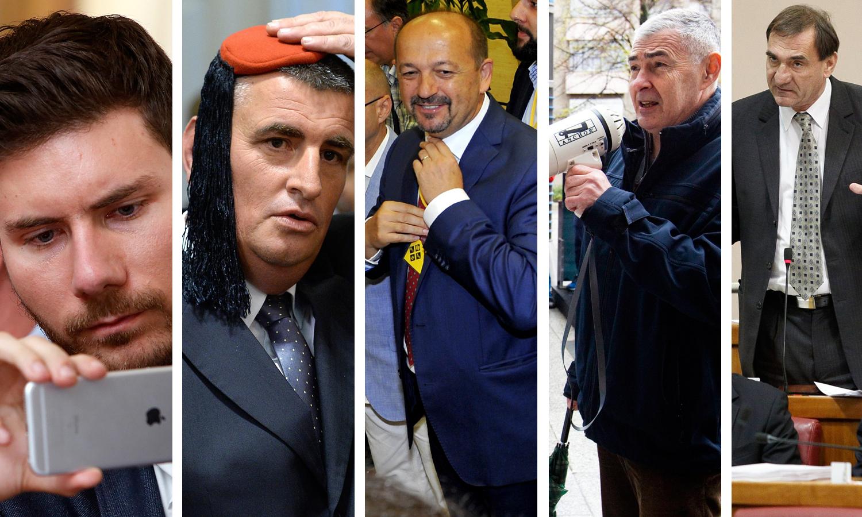 Ivan Pernar, Miro Bulj, Ivan Lovrinović, Željko Glasnović, Nenad Stazić
