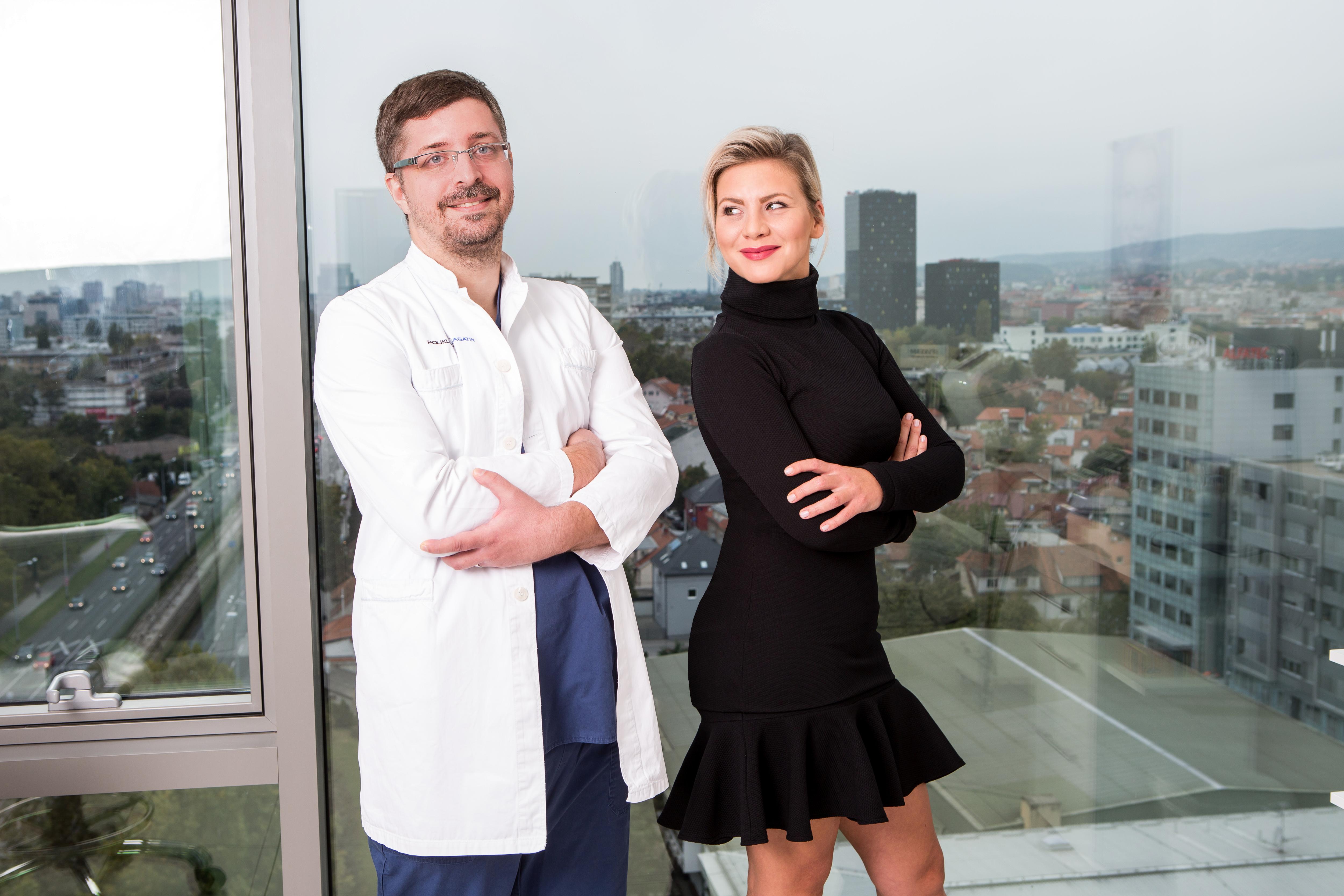 doktor Dinko Bagatin i Ana Begic Tahiri