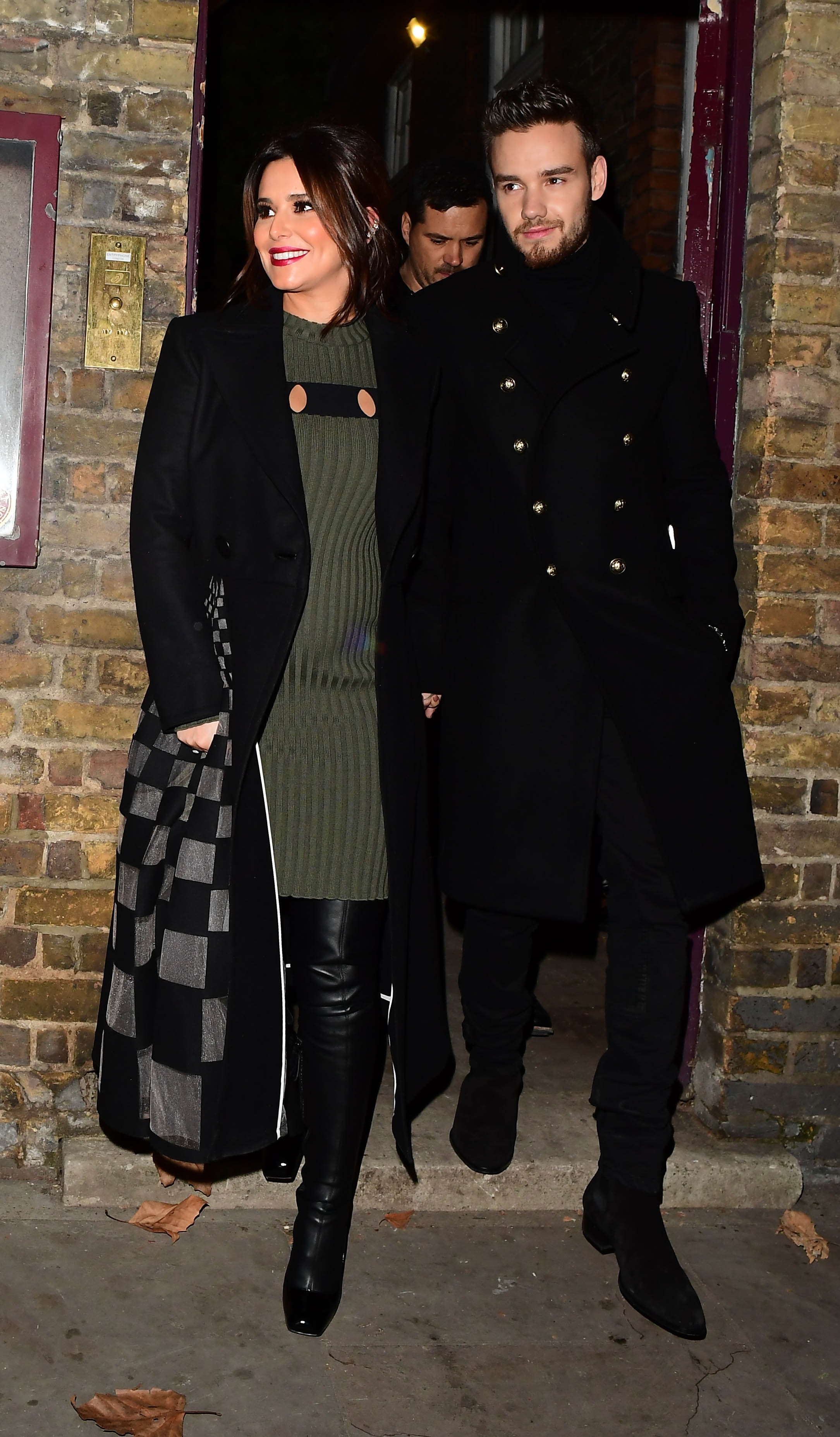 29.November.2016 - London  - uk  Pregnant Cheryl and boyfriend Liam Payne pictured arriving at St James church in Mayfair, London for a Christmas Carol Concert and turning on the Christmas lights. The former Girls Aloud singer wore a green knitted dress., Image: 307011483, License: Rights-managed, Restrictions: PLEASE CREDIT AS PER BYLINE *UK CLIENTS - PLEASE PIXELATE CHILDS FACE BEFORE PUBLICATION***UK CLIENTS MUST CALL PRIOR TO TV OR ONLINE USAGE PLEASE CALL  44 208 344 2007, Model Release: no, Credit line: Profimedia, Xposurephotos