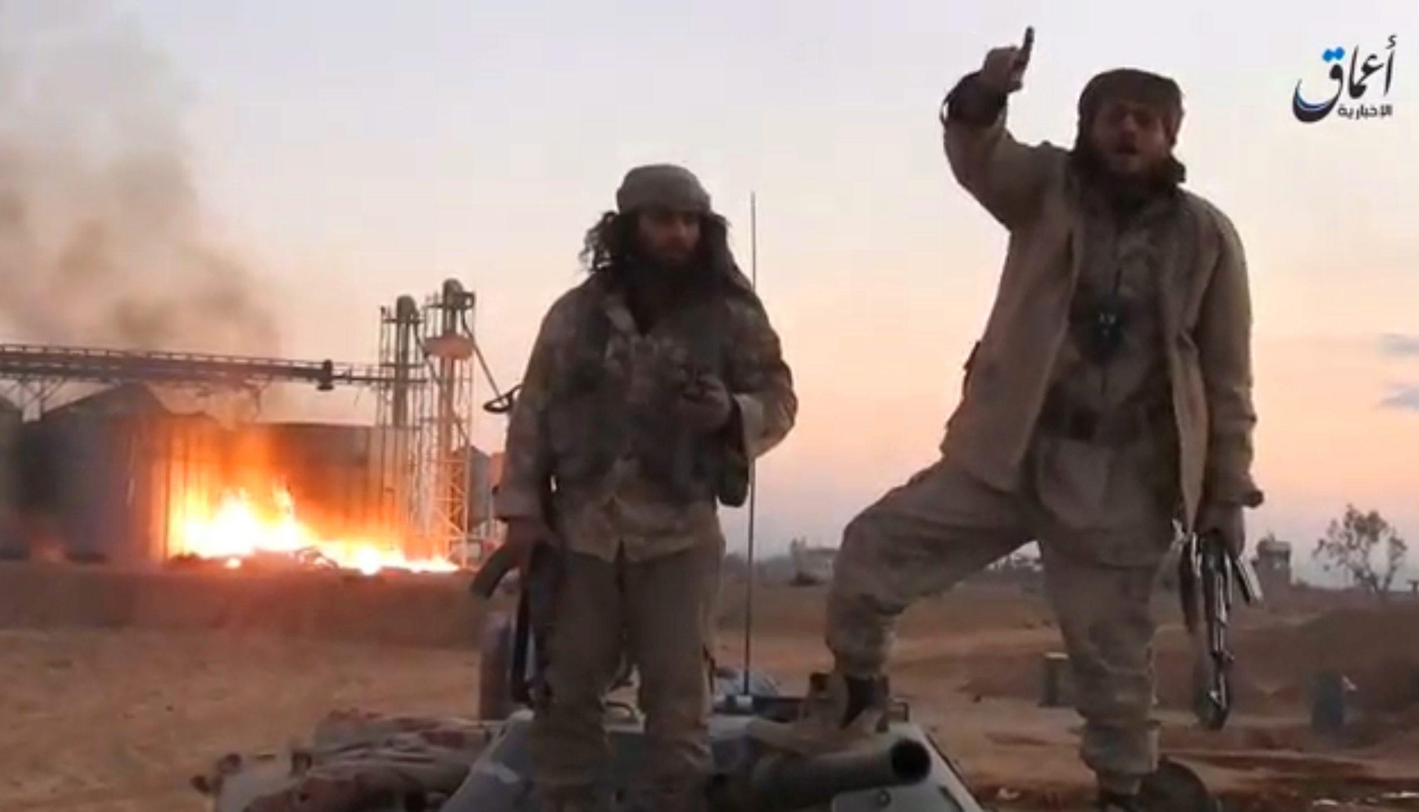 Borci ISIS-a u Palmiri