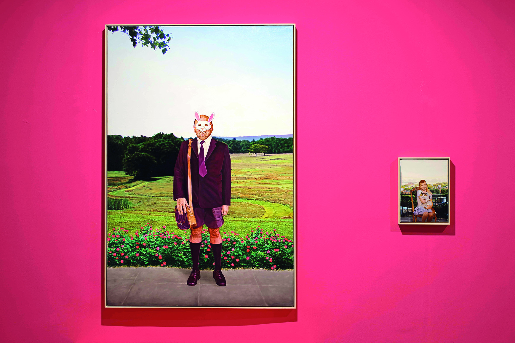 Pavlovoćevi nadrealni prizori stvaraju nelagodu i potvrđuju suvremeni realizam kao ponekad zastrašujući uvid u umjetnikovu svijest