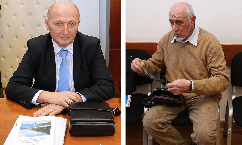 Miroslav Šeparović i Vjekoslav Miličić