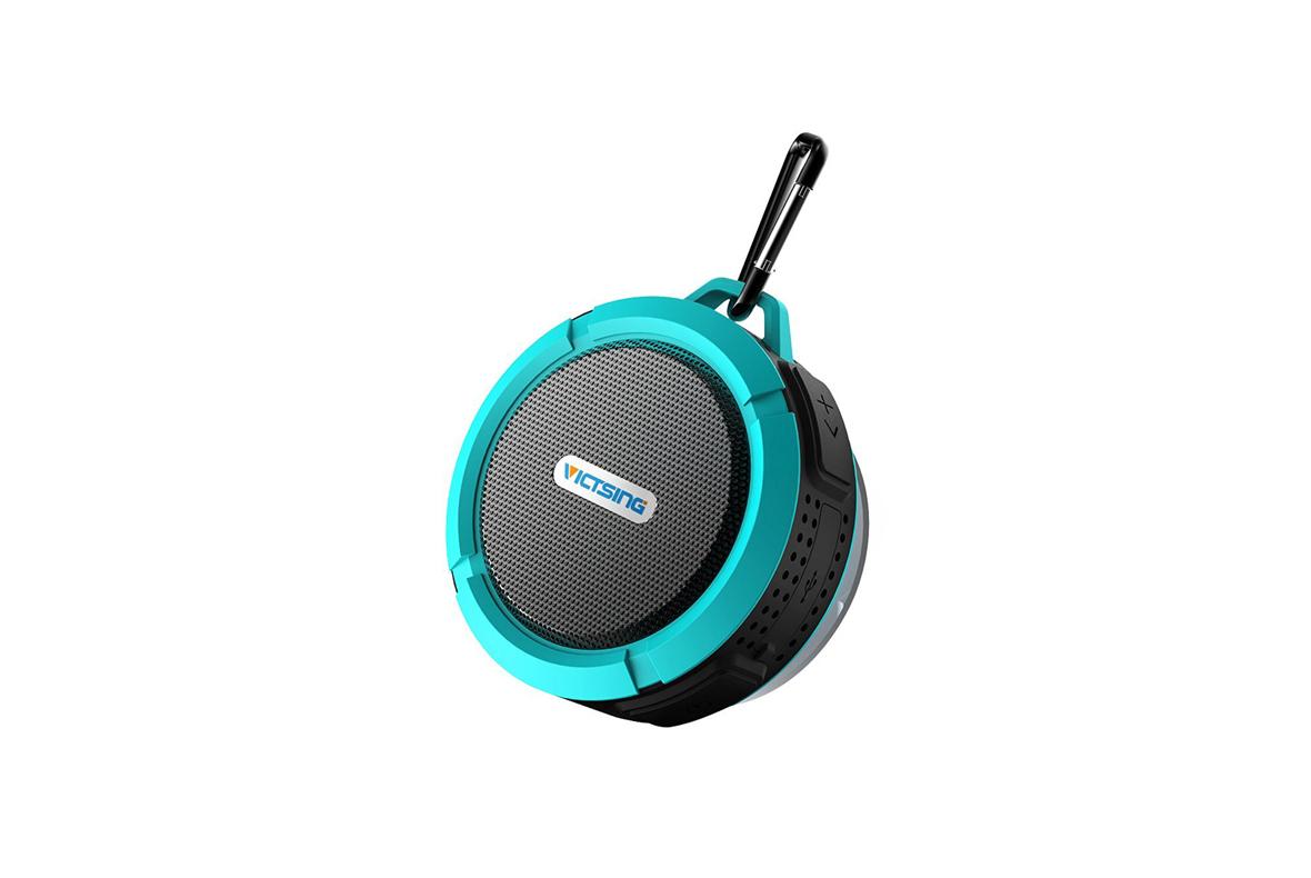 Vic Tsing Shower Speaker, nepromočivi zvučnik, 27,99 $, Amazon.com