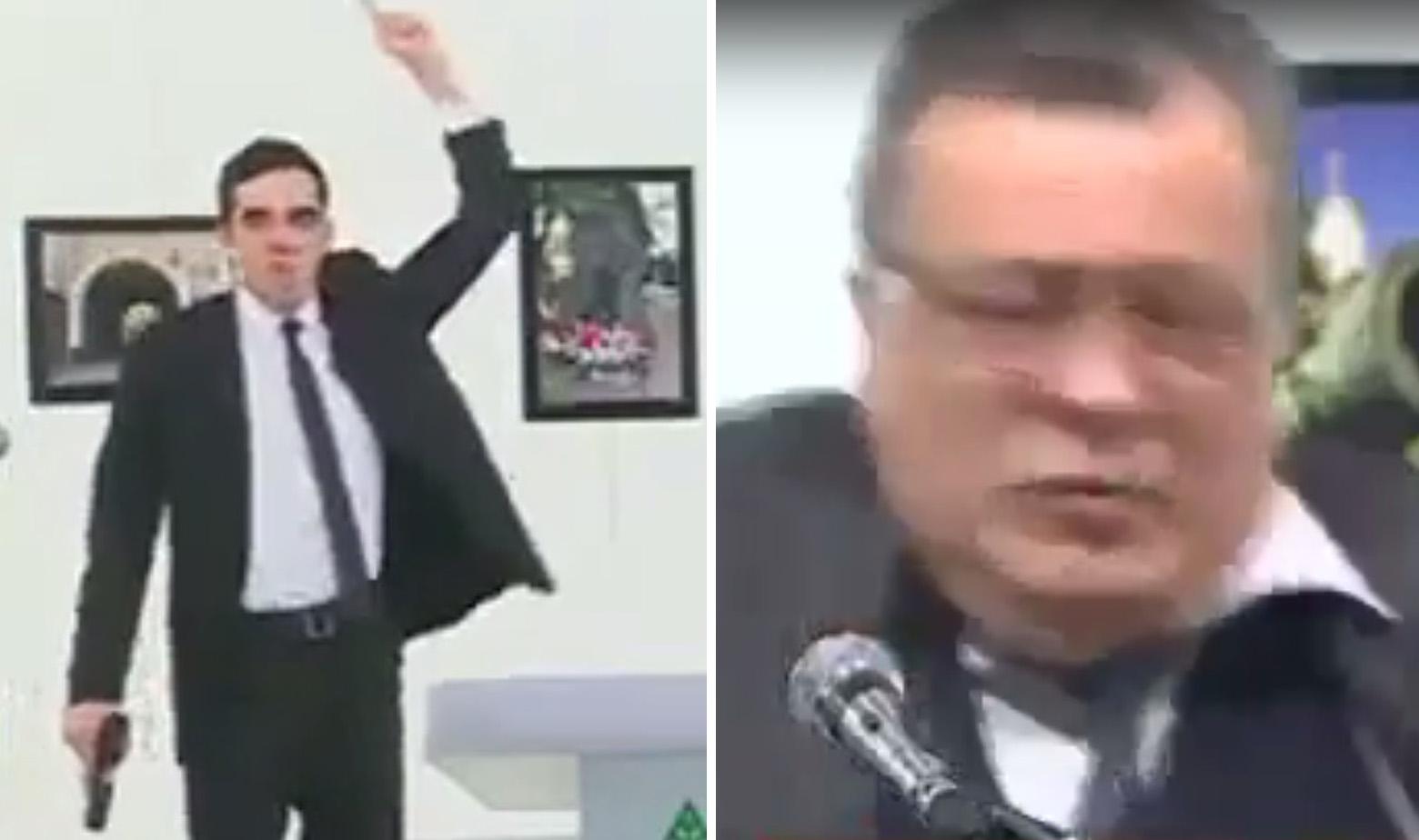 Napadač i ubijeni ambasador Andrej Karlov