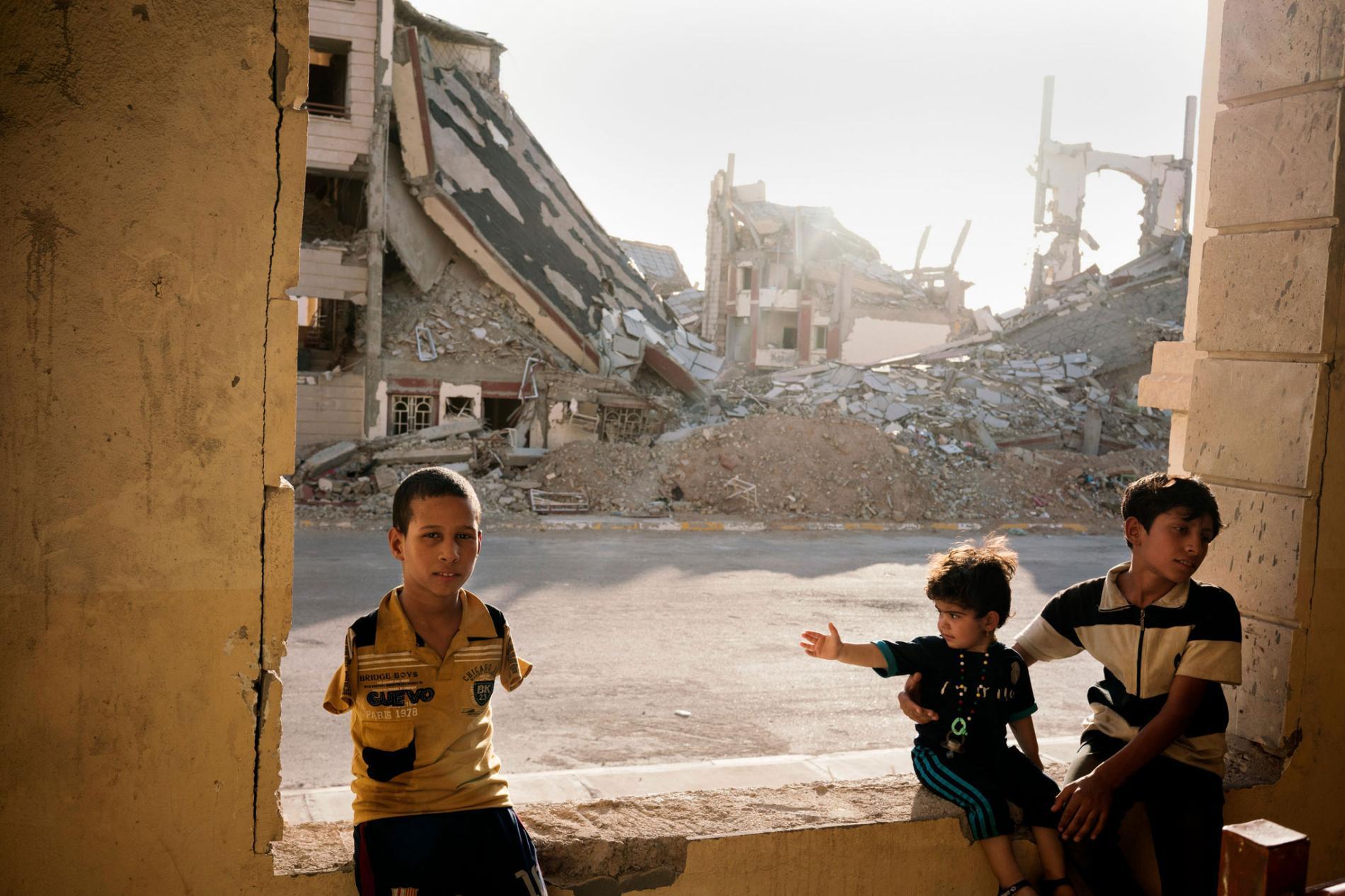 Irački grad Ramadi pod okupacijom ISIS-a