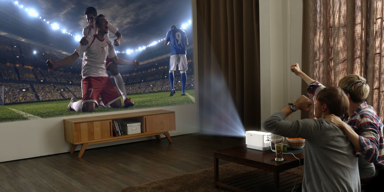 LG-ev laserski projektor