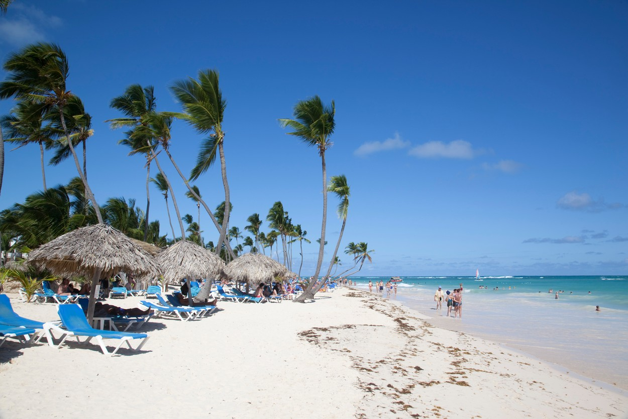 Bavaro Beach, Punta Cana, Dominican Republic, West Indies, Caribbean, Central America, Image: 129559582, License: Rights-managed, Restrictions: , Model Release: no, Credit line: Profimedia, robertharding