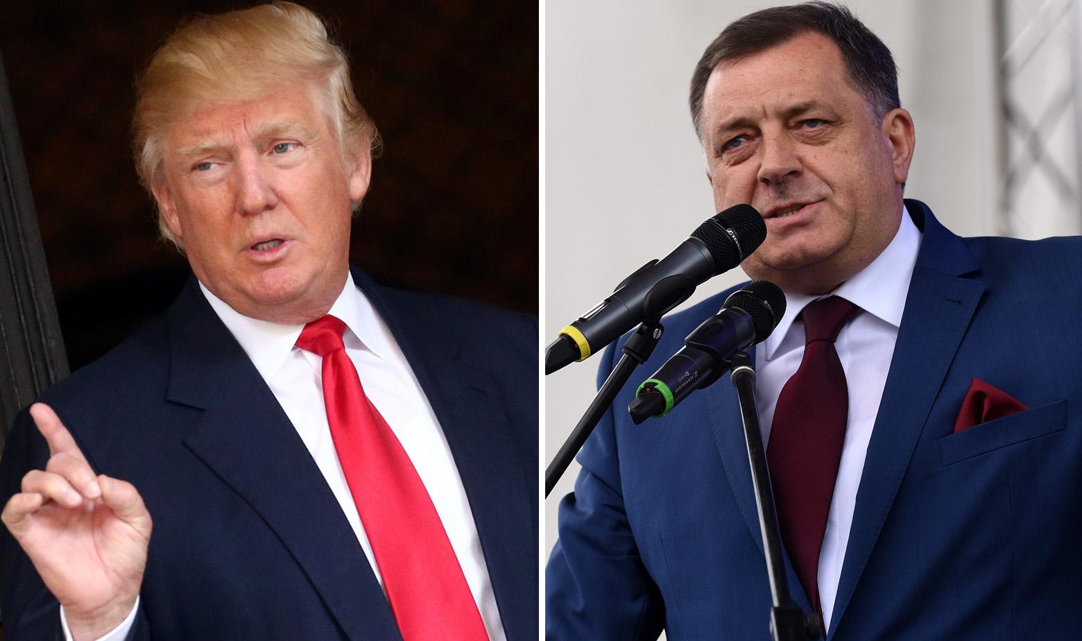 Trump i Dodik