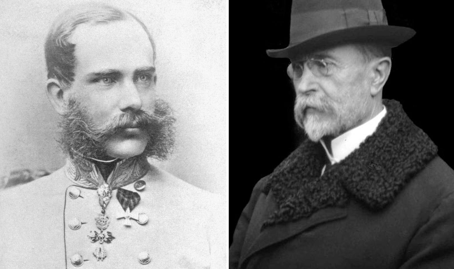 Franjo Josip i Tomaš Masaryk