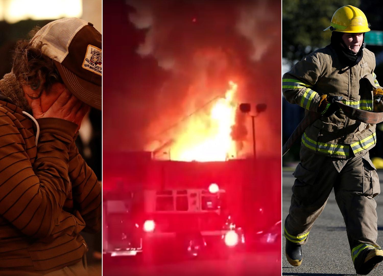 oakland-požar