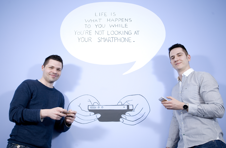 Alan Sumina i Zoran Vučinić, osnivači Nanobita