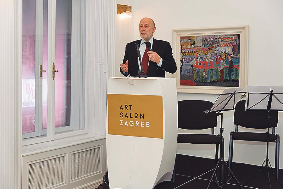 Igor Zidić jedan je od stručnjaka koji surađuju s novom aukcijskom kućom