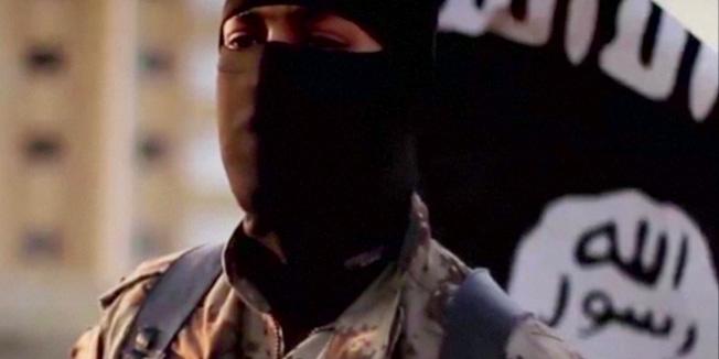Fotografija maskiranog džihadista IS-a iz Sirije