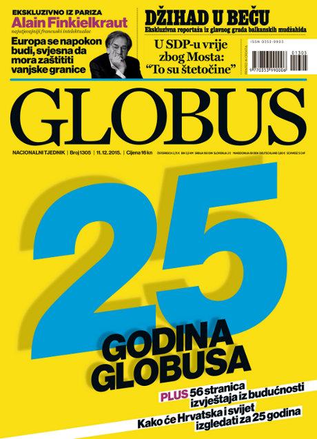 Globus naslovna broj 1305