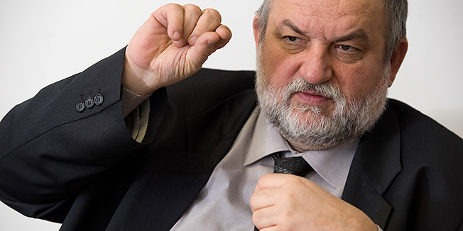 Zagreb, 230112.Vladimir Ferdelji, pomocnik ministra pomorstva, prometa i infrastrukture za infrastrukturu. Ferdelji  Predlaze konkretne promjene u sektoru infrastrukture RH.Foto: Darko Tomas / CROPIX