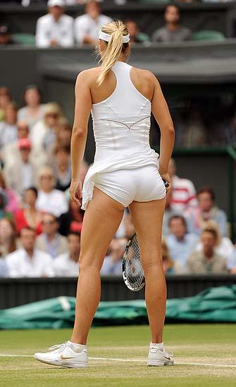 Photo Must Be Credited ©Karwai Tang/Alpha 074734 30/06/2011 Maria Sharapova during day 10 Women's Singles Semi Final at The Wimbledon 2011 Tennis Championships in Wimbledon London