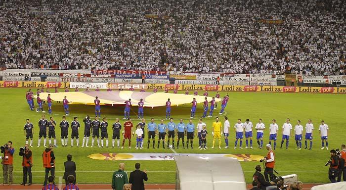 Split, 300910.Stadion Poljud.Nogometna utakmica drugog kola Europske lige, Hajduk - Anderlecht.Foto: Duje Klaric / CROPIX