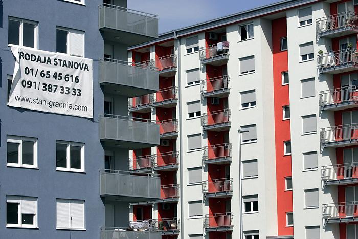 Zagreb, 230808.Reportaza o stanovima koje se u zadnje vrijeme lose prodaju.Laniste.Foto: Goran Mehkek / CROPIX