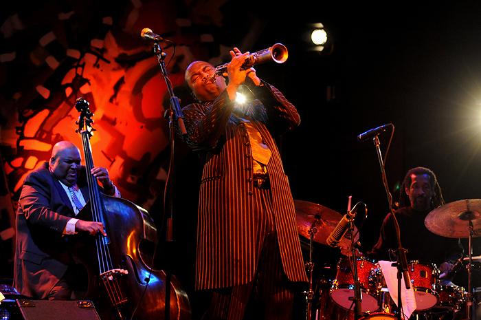 Zagreb, 201009.James Carter Quintet nastupio je u maloj dvorani Vatroslav Lisinski prve veceri medunarodnih dana jazza . Foto: Mladen Pobi / Cropix