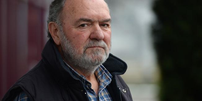 Zagreb, 090115. Mandlova 3.Bozidar Kocmur, jedan od ljudi koji vodi najduzi sudski postupak u Hrvatskoj.Foto: Goran Mehkek / CROPIX