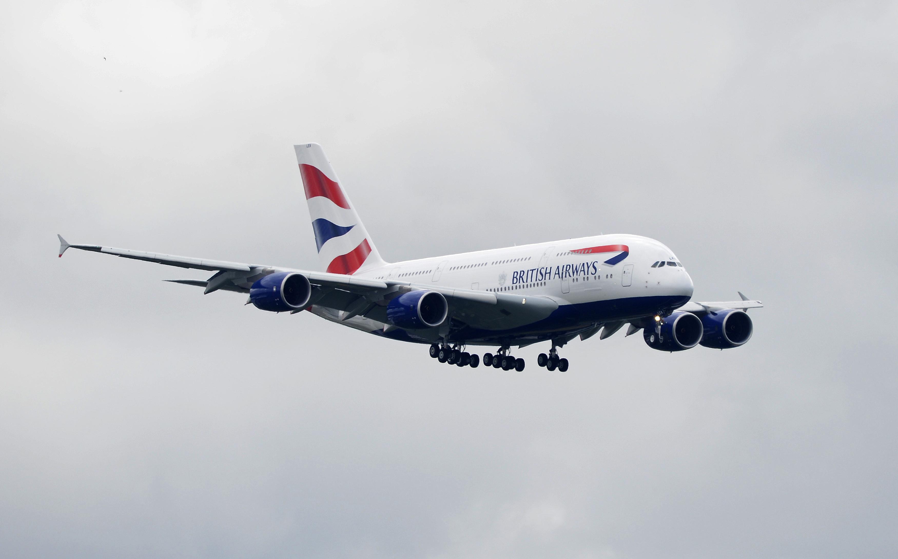 Ilustracija: Airbus A380 British Airwaysa
