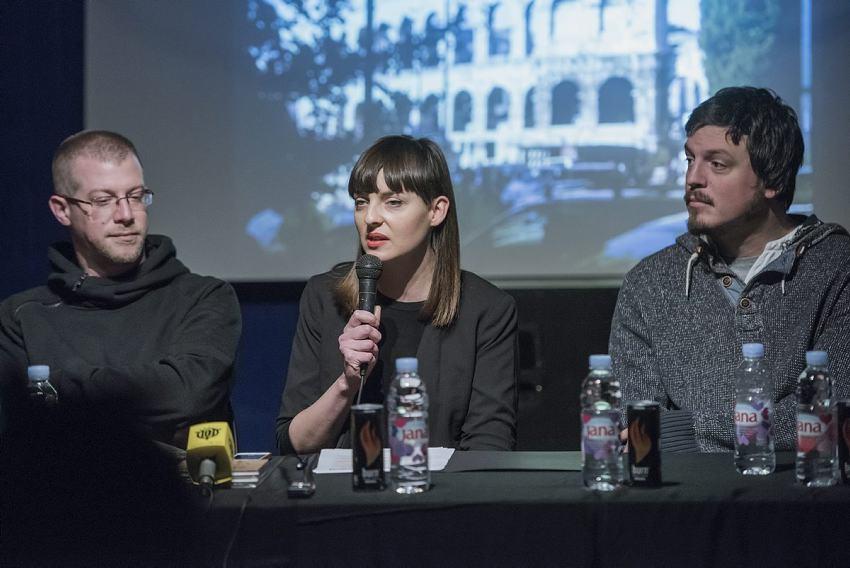 Na fotografiji: Luka Tralić Shot, Maja Gujinović, Toni Starešinić, Arsen Pavišić