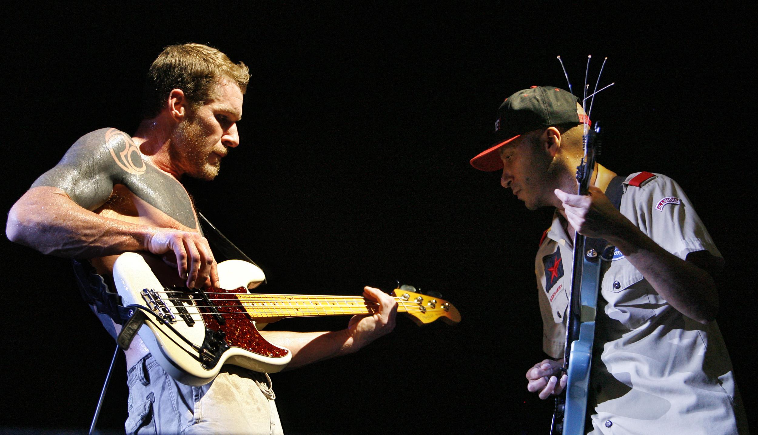 Tim Commerford i Tom Morello iz Rage Against the Machine