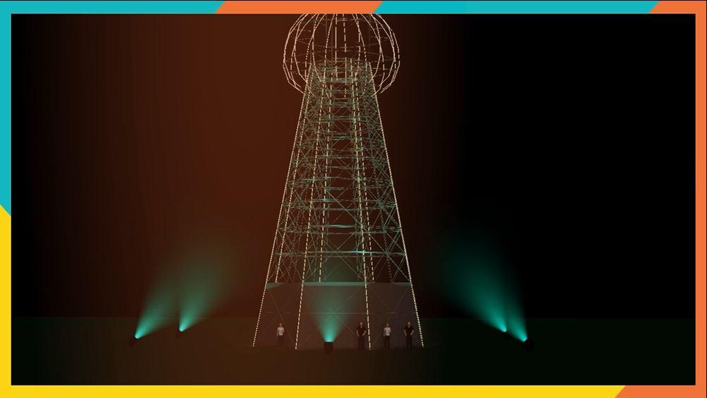 Tesla Tower - INmusic festival