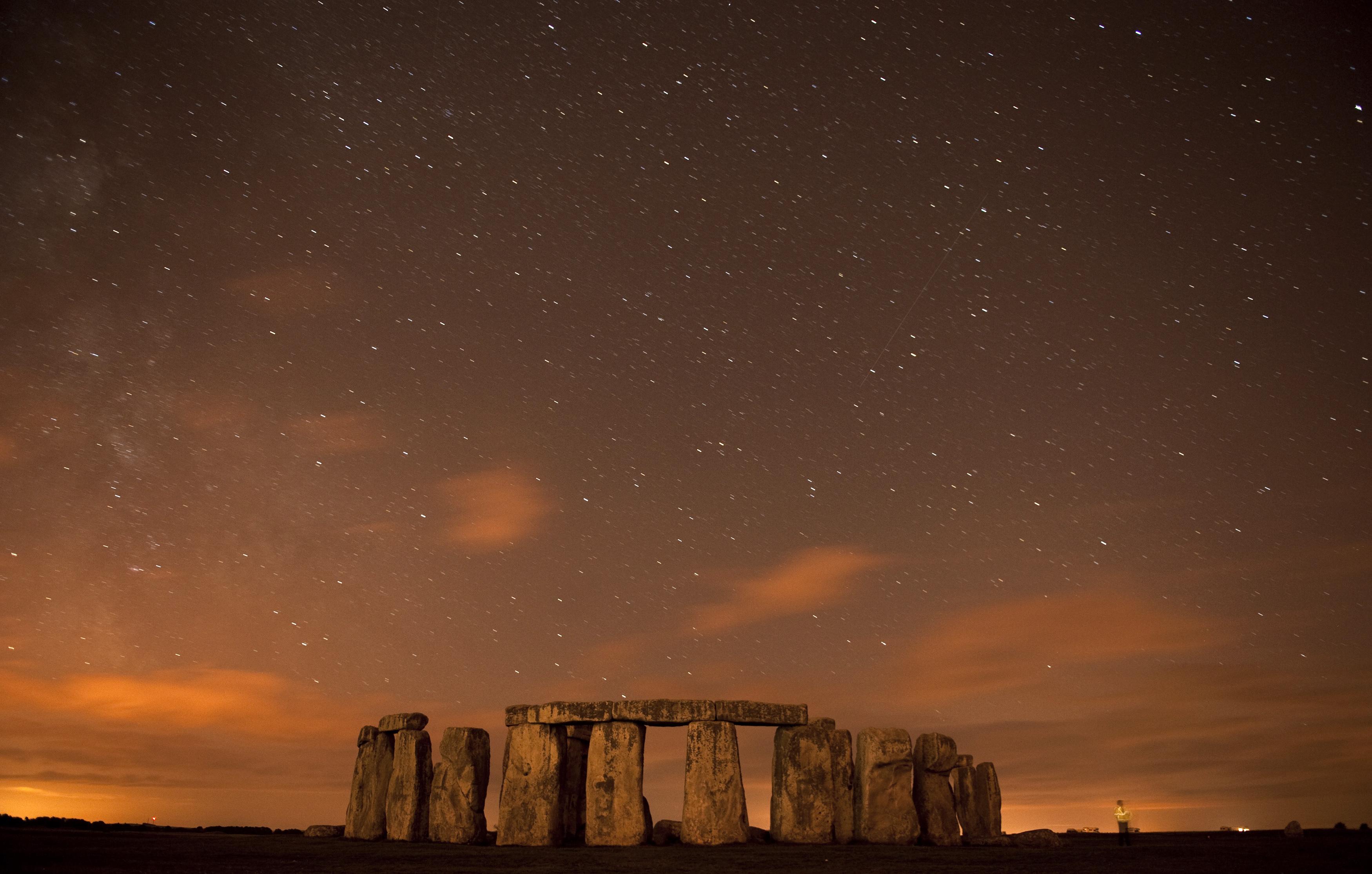 Meteor iznad Stonehengea