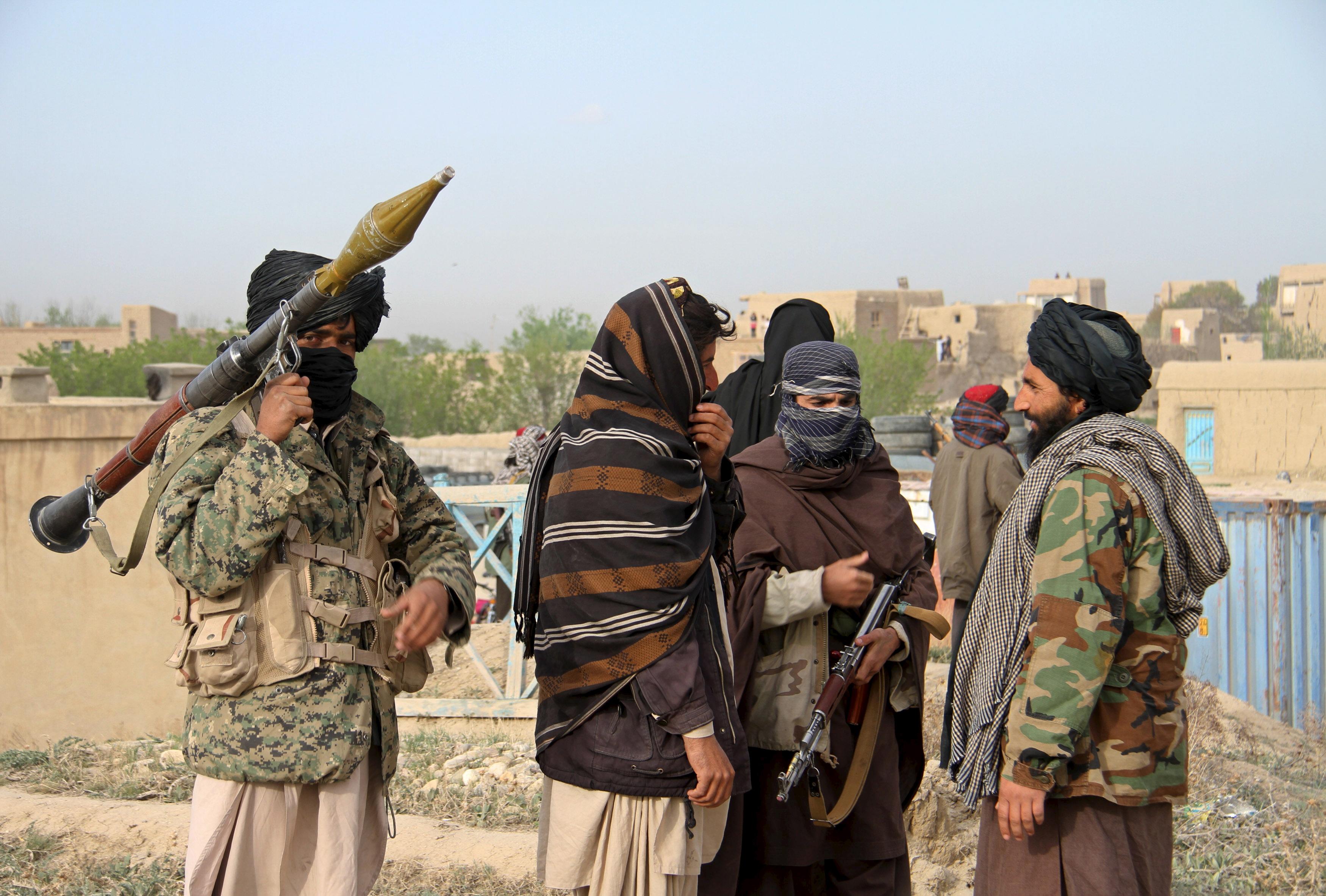 Arhivska fotografija: Pripadnici talibana