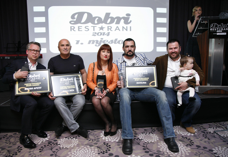 Zagreb, 280414. Hotel Hilton, Vukovarska. Dobri restorani, Dodjela nagrada za najbolje hrvatske restorane u 2014. godini. Foto: Biljana Gaurina / CROPIX